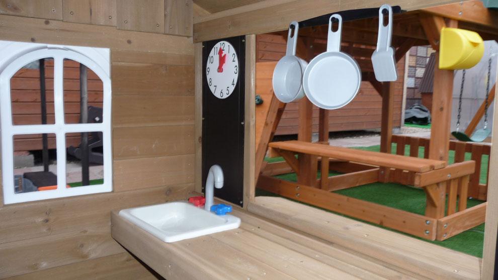 Как сделать для ребенка деревянный домик 743