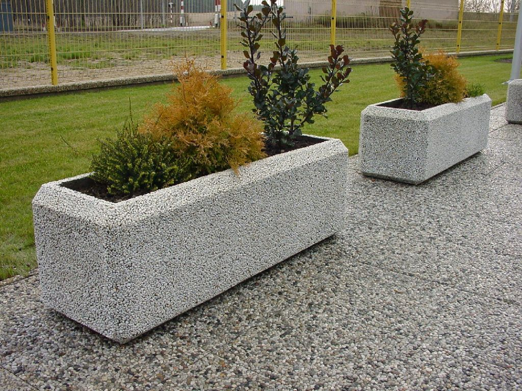 Вазоны бетона