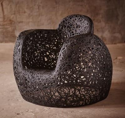 Базальтовое кресло Трон
