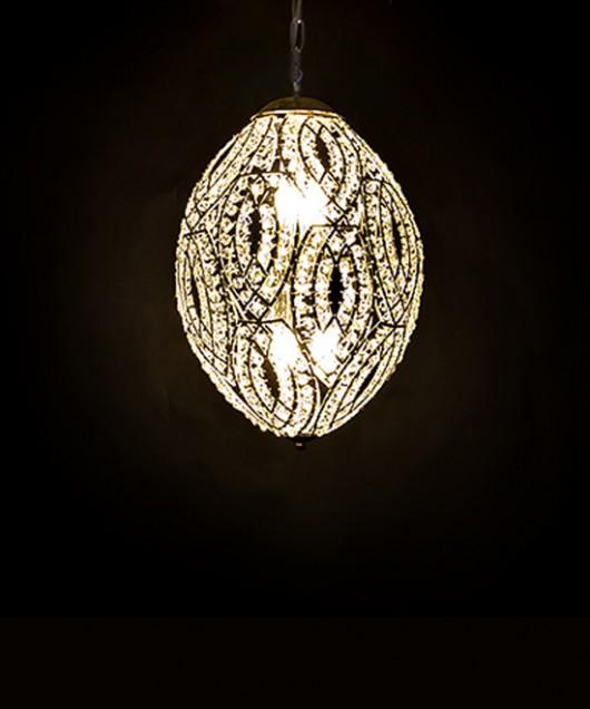 Светильник потолочный «хрустальное яйцо»