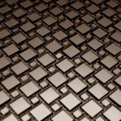 Зеркальная мозаика серии  DECO ( квадр. чип)
