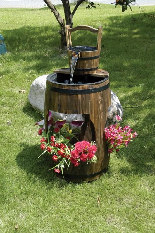 Декоративное кашпо с фонтаном 2223