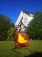 """Подвесное кресло -качели """"Алания"""" коричневое"""