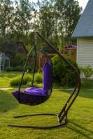 """Кресло подвесное """"Корфу"""" (черное)"""