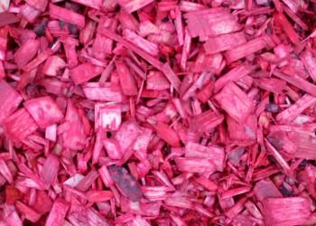 Мульча (щепа) красная