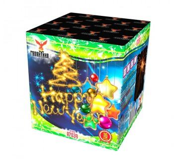 Батарея салютов Галактика Happy New Year!