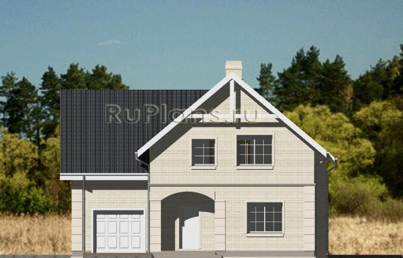 Уютный дом с мансардой rg3677.