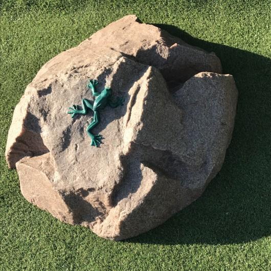 """Искусственный камень D-85 """"Лягушка"""""""