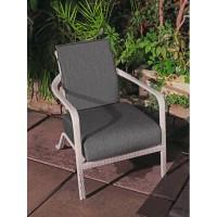 Кресло серый жасмин