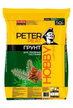 Грунт для хвойных растений Peter peat HOBBY