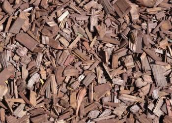 Мульча (щепа) коричневая