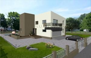 Проект современного просторного двухэтажного дома Rg3793