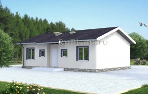 Проект аккуратного дома Rg3823