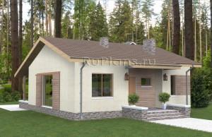 Эскизный проект гостевого дома Rg4027