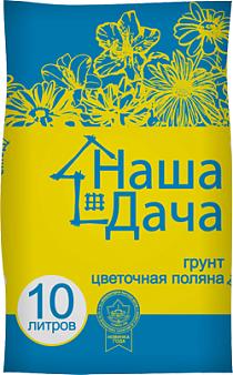 """Садовый грунт Наша Дача """"Цветочная поляна"""""""