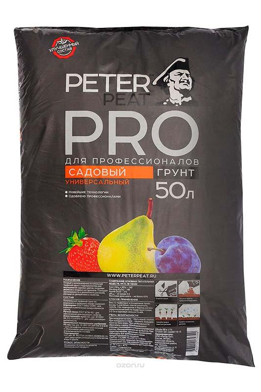 Грунт садовый Peter peat Pro