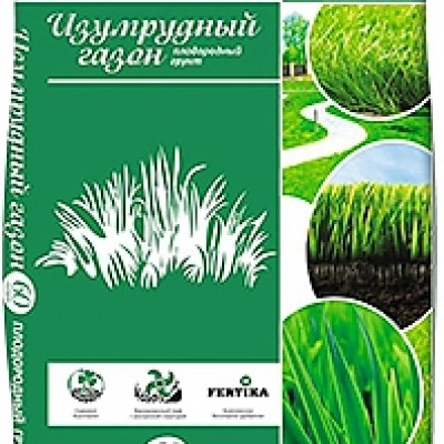 """Садовый грунт 4 сезона """"Изумрудный газон"""""""
