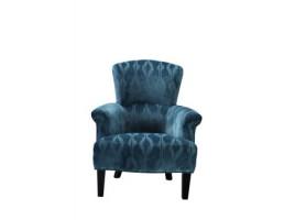 Кресло бархат бирюзовый