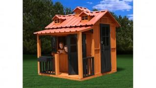 Деревянный домик «Гномик»