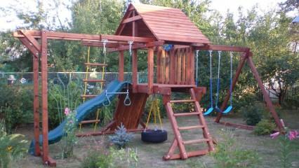 Металлическая детская площадка «Задний двор»