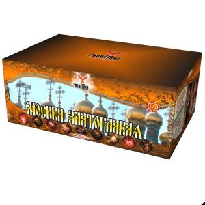 Батарея салютов Галактика Москва Златоглавая (коробка)