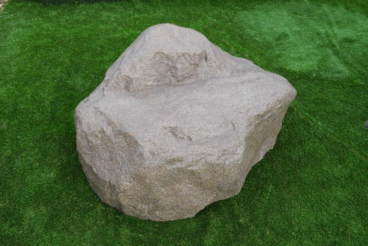 Искусственный камень глыба-кресло-150