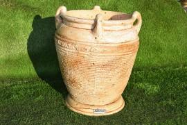"""Керамический вазон """"Котел"""" кантри"""
