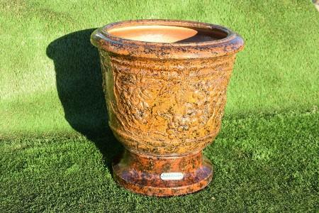 """Керамический вазон """"Цезарь"""" с виноградом"""
