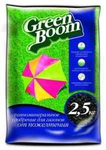 Удобрение Green-Boom от пожелтения газона