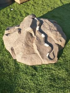 """Искусственный камень D-85 """"Змея"""""""