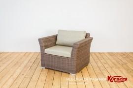 """Кресло """"Сорренто"""" цвет эбен"""