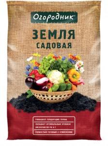 """Плодородный грунт """"Огородник"""" Садовая земля"""