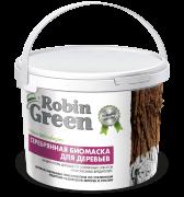 Побелка Серебряная биомаска Robin Green  в ведре 3,5кг.