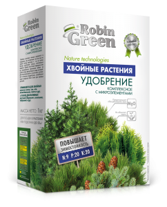 Удобрение гранулированное Robin Green Хвойные