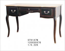Стол письменный с 2-мя тумбочками и ящичком