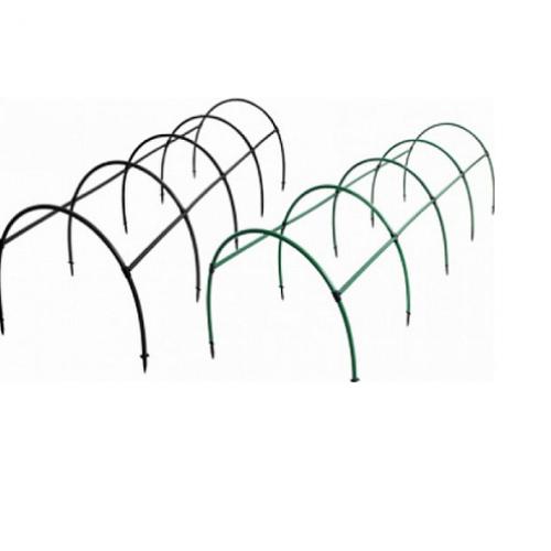 Опора для малины 1200х480х15, цвет зеленый
