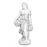 "Скульптура античная ""Девушка с фруктами"" артикул 240"