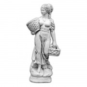 "Скульптура античная ""Девушка с корзинками"" артикул 590"