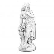 """Скульптура античная """"Девушка с цветами"""" артикул 301"""