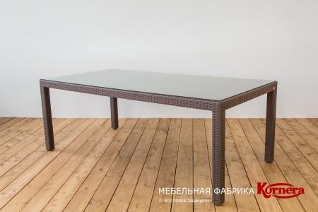 Стол «Модерн», 200x100 , цвет Зебрано