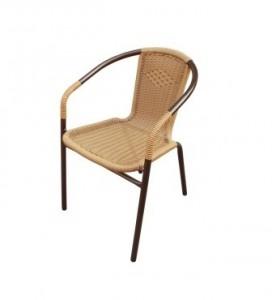 Плетеное кресло TLH-037 Капучино