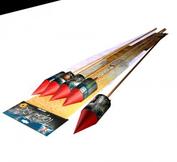 Ракета Торнадо, пиротехника