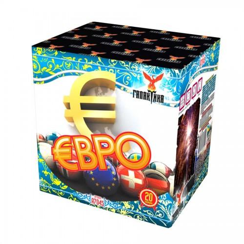Батарея салютов Галактика Евро
