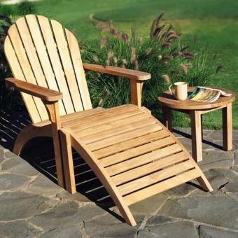 Стулья и кресла из натурального дерева