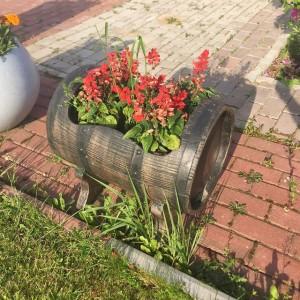 Кашпо-бочонок (Planter Barrel Swing М)