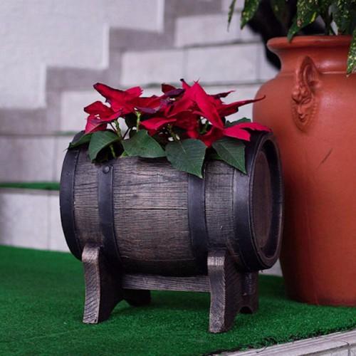 Кашпо-бочонок (Planter Barrel Swing S)