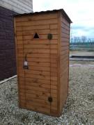 Туалет садовый 004