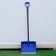 Лопата для снега со стальным черенком