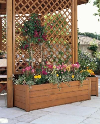 Шпалерные решетки для растений