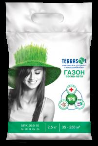 Удобрение TerraSol Газон Весна-Лето 2,5 кг.